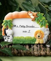 Jungle Critters Photo Frame / Place Card Holder